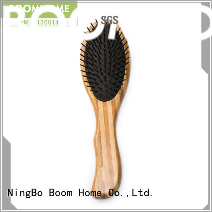 Boom Home quality bamboo hair brush wholesale for thick hair