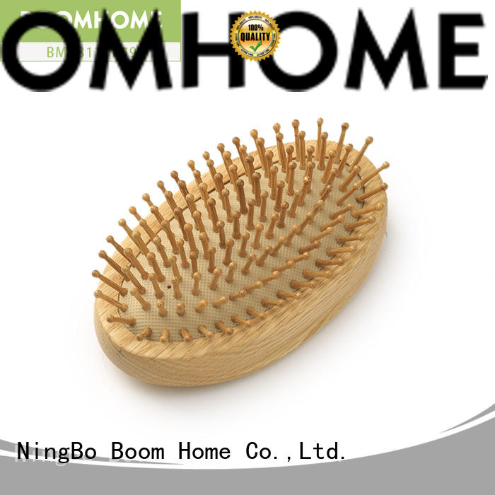 Boom Home large wooden paddle brush inquire now for hotel