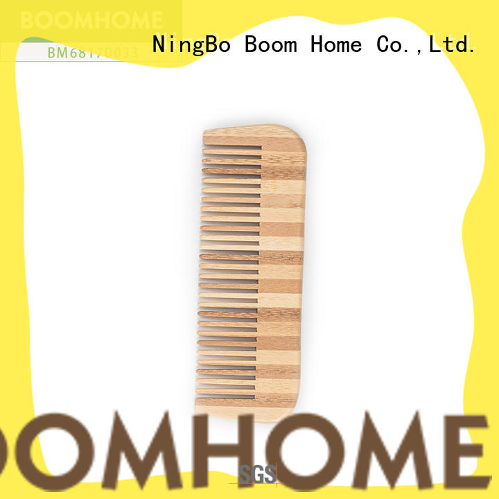 Boom Home quality bamboo bristle brush wholesale for men