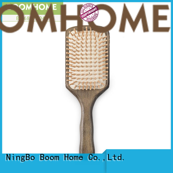 Boom Home Wholesale wooden hair comb for sale for travel