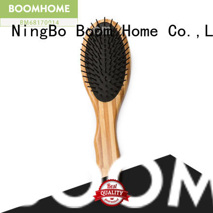 Boom Home smooth bamboo hair brush factory price for men