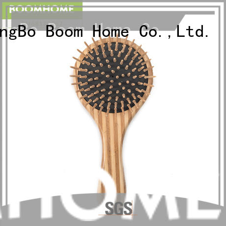 Boom Home Custom bamboo hair comb for business for men