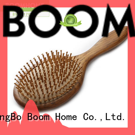 Boom Home natural wooden comb brush carry for shop