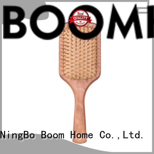 Boom Home smooth wooden brush from China for shop