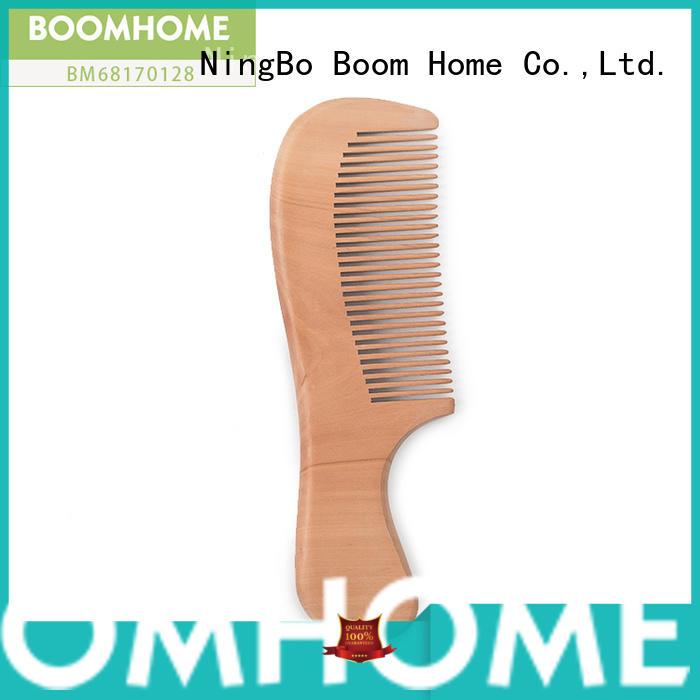 large wooden hair brush gift design for home