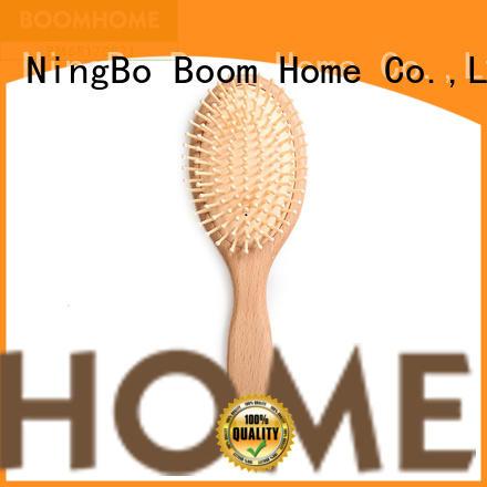 Boom Home nylon wooden hair brush design for shop