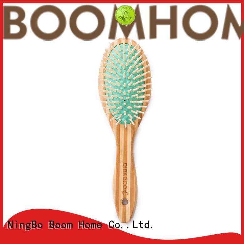Small Airbag Massage Bamboo Boar Bristle Brush