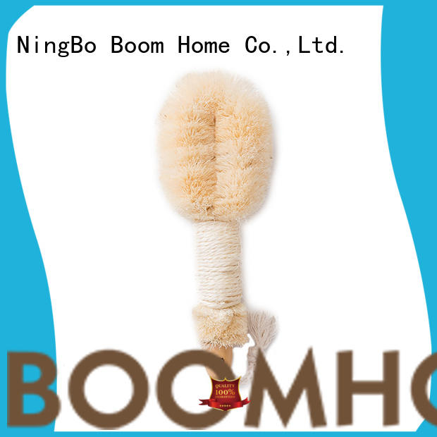 Boom Home bristle bath brush from China for dry skin