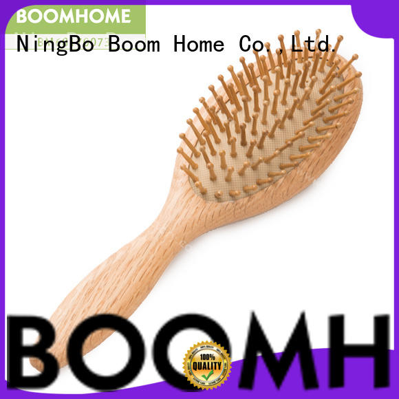 Boom Home eco-friendly wooden hair comb factory for home