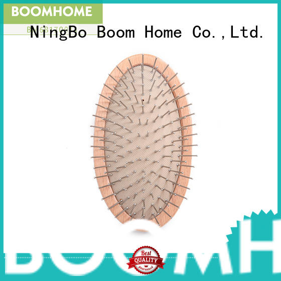 Boom Home private wooden paddle hair brush for sale for home