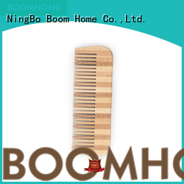 eco-friendly bamboo pin hairbrush personalized for women
