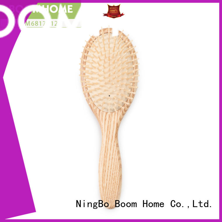 Boom Home large wood hair brush inquire now for hotel