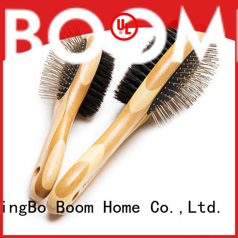 Boom Home double sided pet brush factory for fur