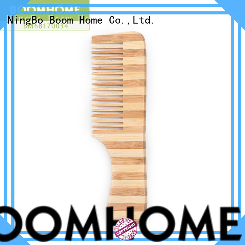 Boom Home gifts bamboo pin brush factory price for women