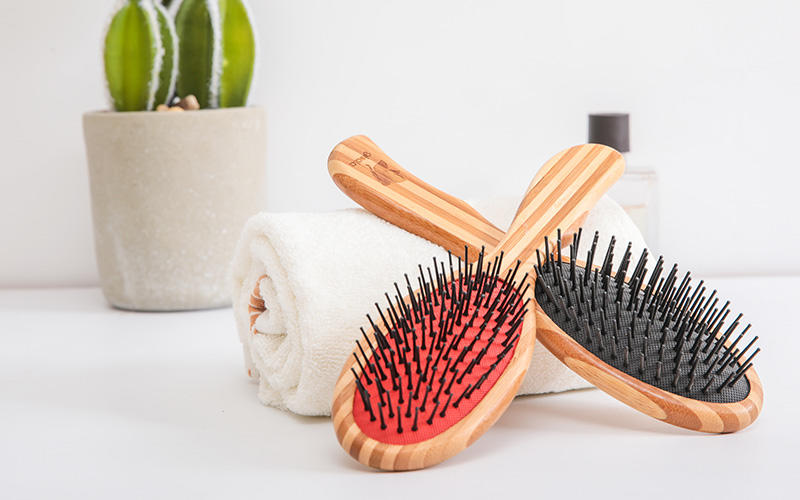 Boom Home hairbrush bamboo hair comb wholesale for curly hair-1
