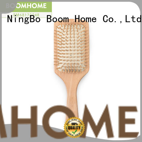 Boom Home pocket bamboo hair comb for sale for curly hair
