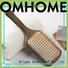 Boom Home round wood hair brush with good price for hotel