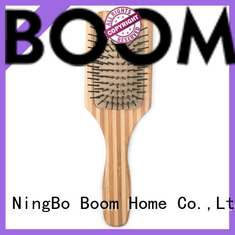 Boom Home High-quality bamboo hair comb company for curly hair
