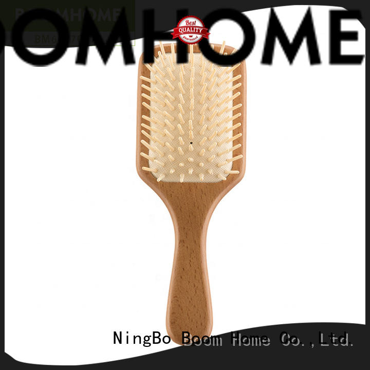 Top wooden paddle hair brush needle for sale for travel