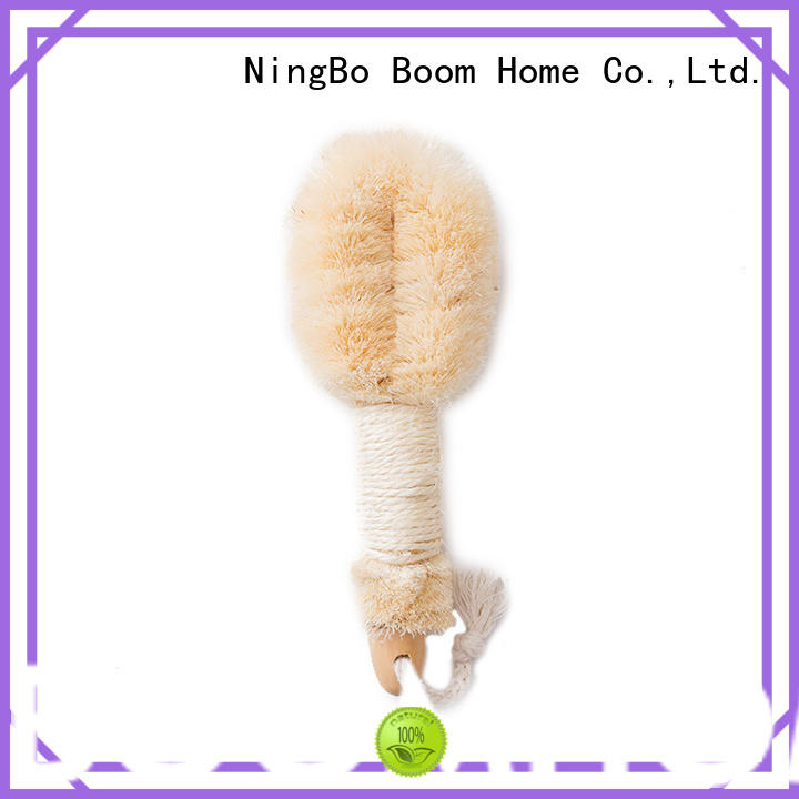 Natural Fibers Shower Back Brush For Dry Skin