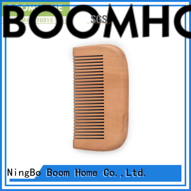 High-quality wooden paddle hair brush brown manufacturers for shop