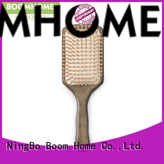 Boom Home noble olive wood hair brush inquire now for shop