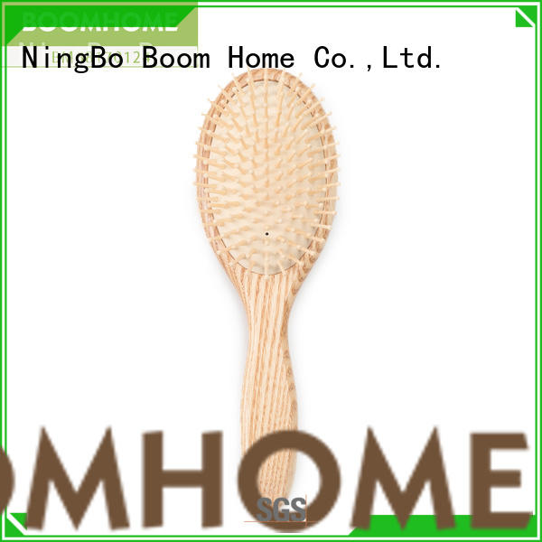 Boom Home eco-friendly wooden paddle hair brush factory for home
