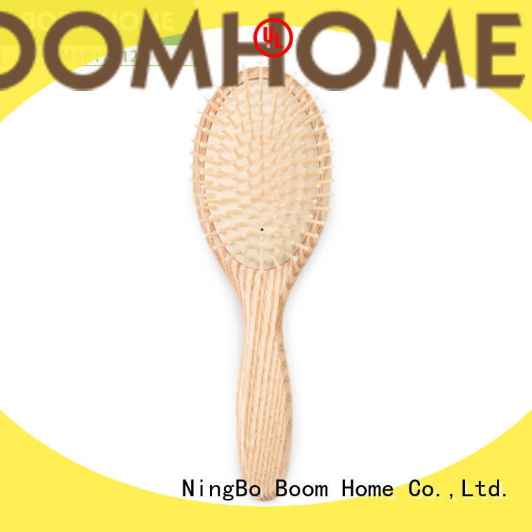 Boom Home Custom wooden comb supply for travel