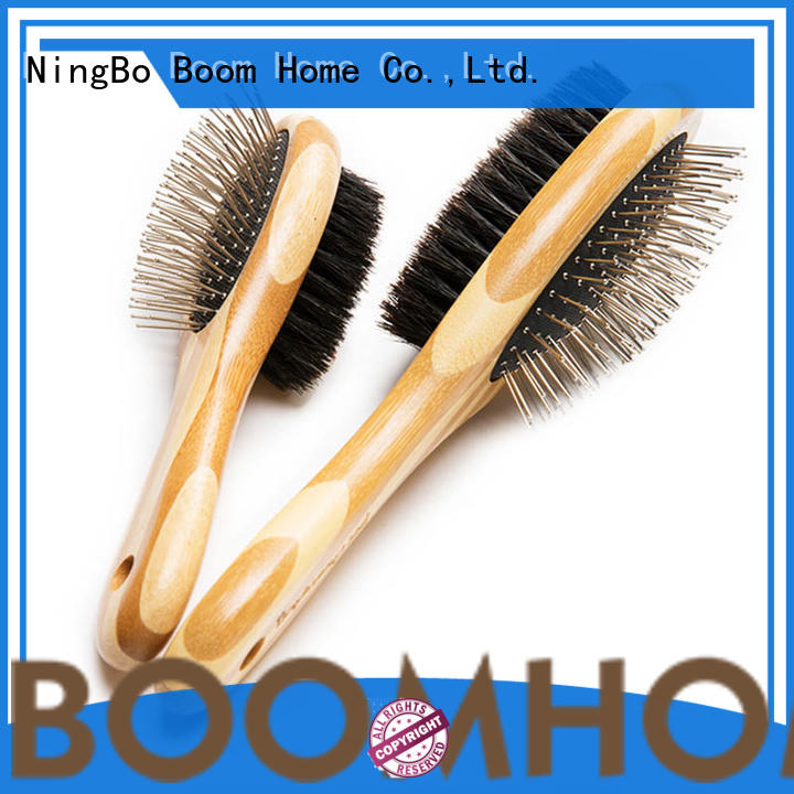 Boom Home bamboo pet combs and brushes design for household