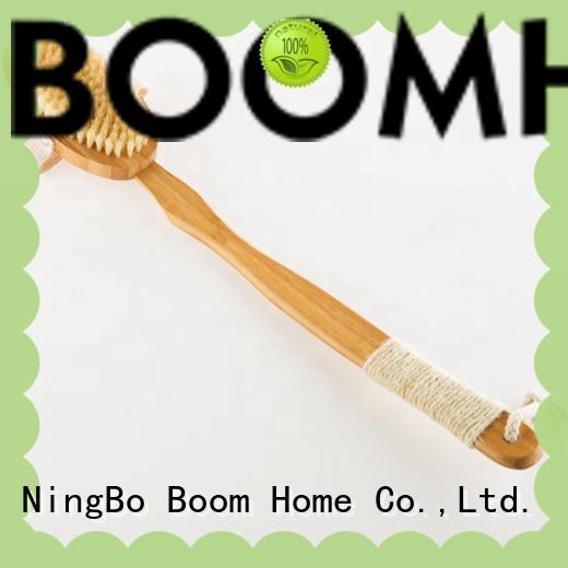 horse body brush bamboo for shower Boom Home