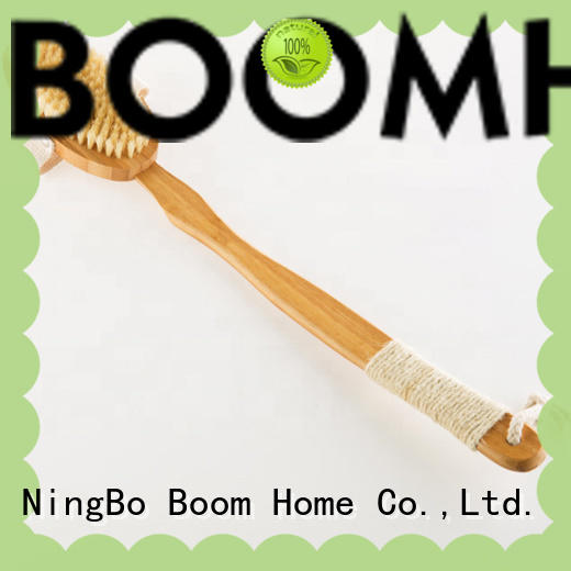horse body brush bamboo for shower Boom Home