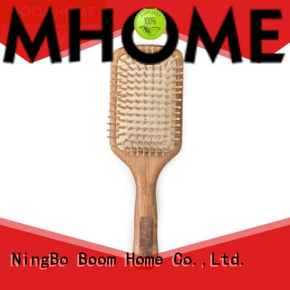 Boom Home natural wood hair brush with good price for hotel