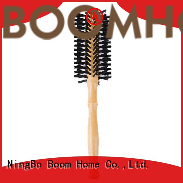 Boom Home dryer boar bristle round brush for sale for household