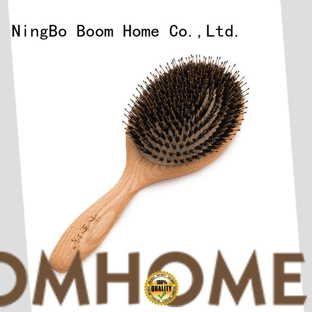 Boom Home comb bamboo paddle brush supplier for women