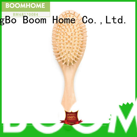 Boom Home large wood hair brush with good price for travel