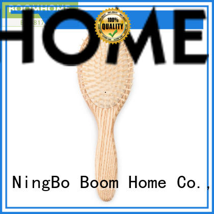 Boom Home massage wooden hair brush factory for shop