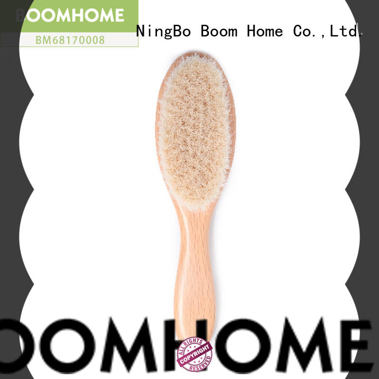 Top baby hair brush set bristle company for infant