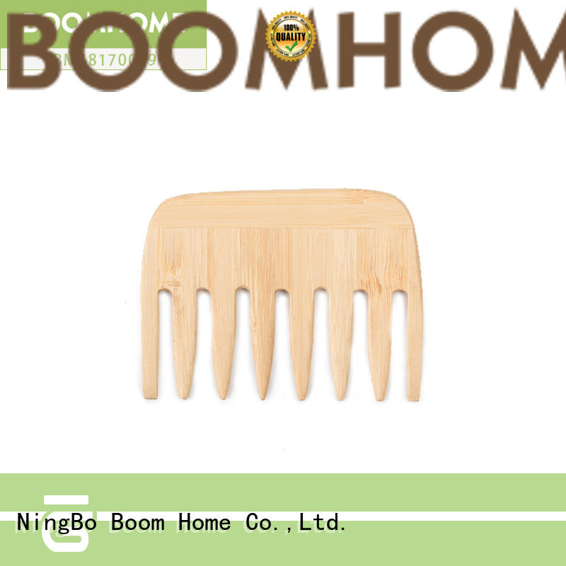 Boom Home eco-friendly wooden hair brush design for home