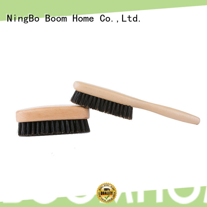 Boom Home durable men's boar bristle hair brush personalized for home