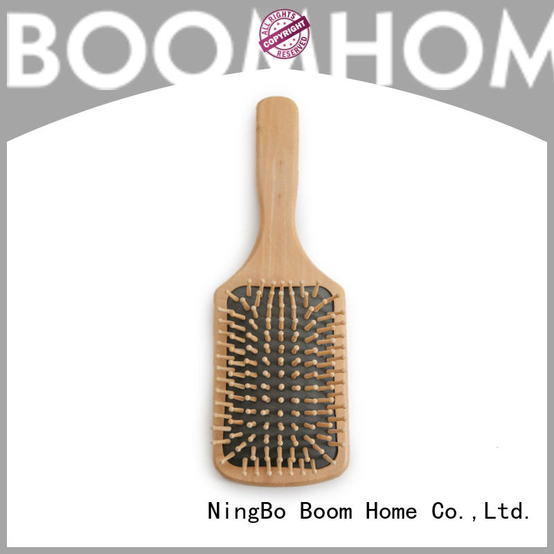 small wooden paddle hair brush inquire now for hotel Boom Home