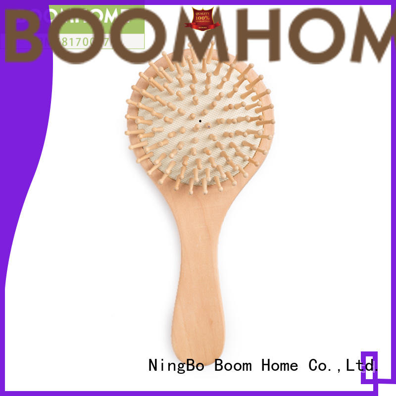 Boom Home needle wooden paddle brush inquire now for hotel