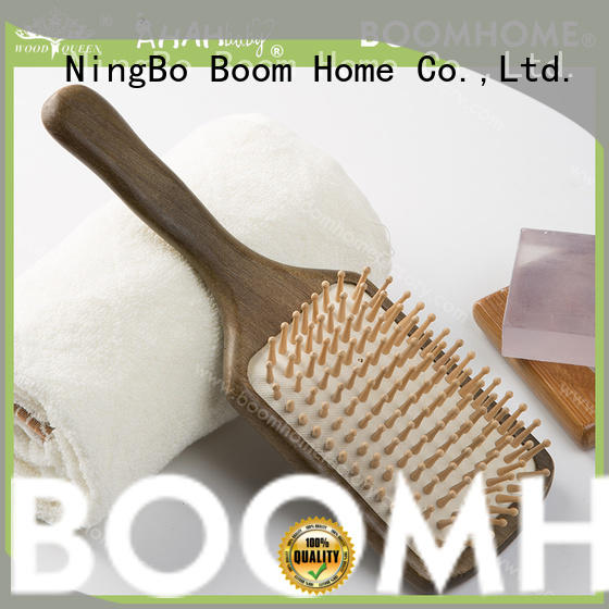 portable wooden comb with good price for hotel Boom Home