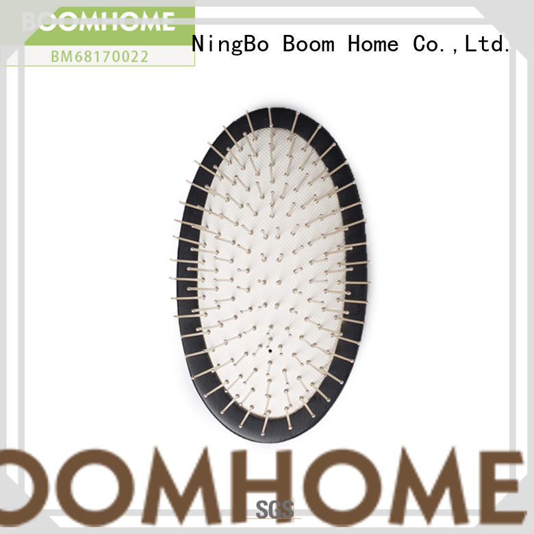 Boom Home round wooden hair comb inquire now for home
