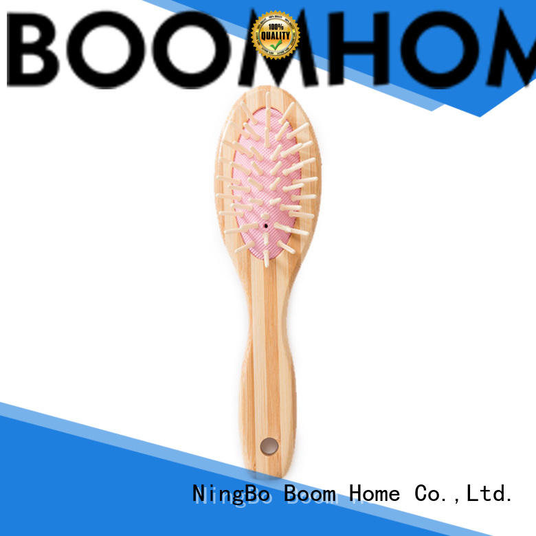 Boom Home natural bamboo hair brush factory price for women