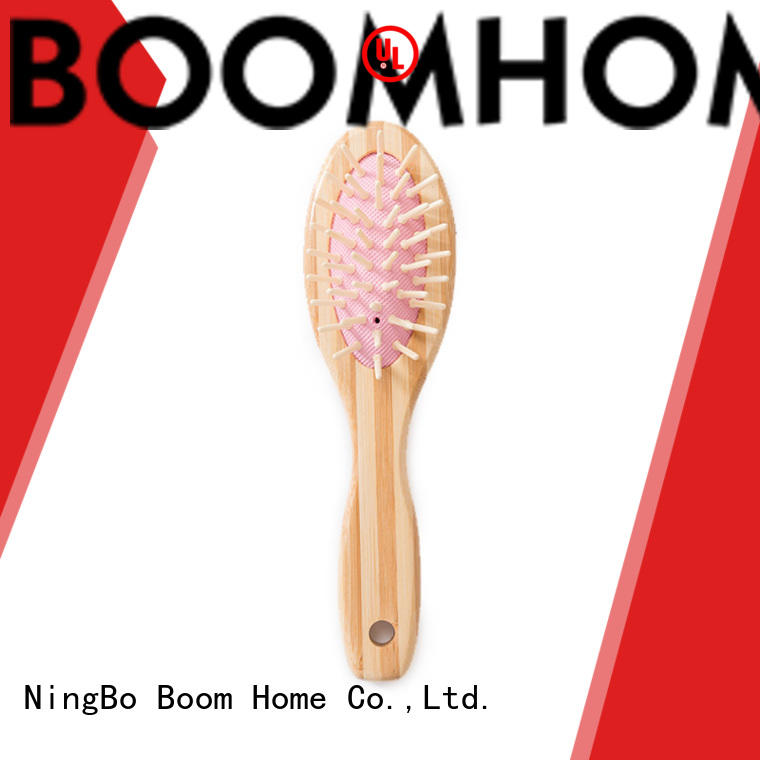 Boom Home gift bamboo hair comb wholesale for men