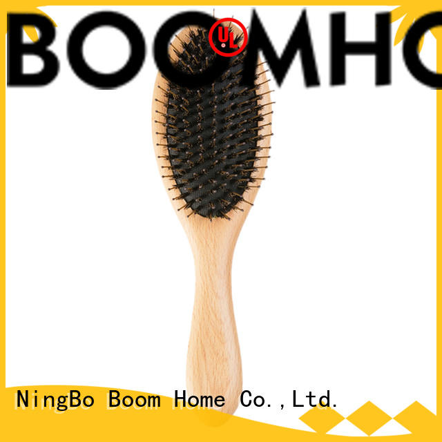natural bristle hair brush pins with good price for hair salon