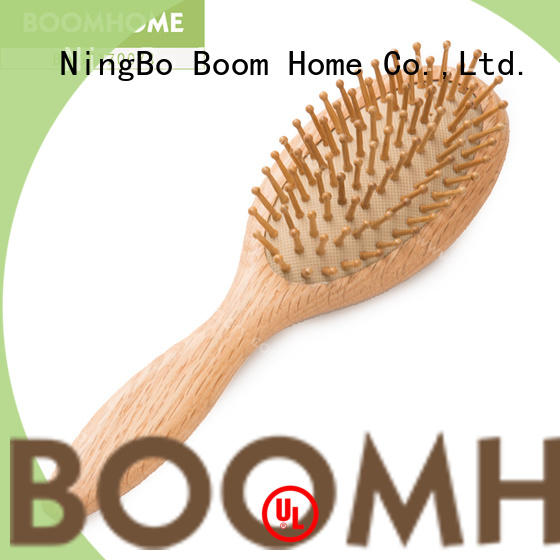 Boom Home shower wooden handle hair brush inquire now for shop