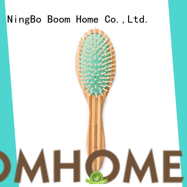 Boom Home quality bamboo hair comb supplier for women
