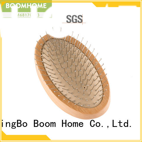 Top wooden paddle hair brush air supply for home