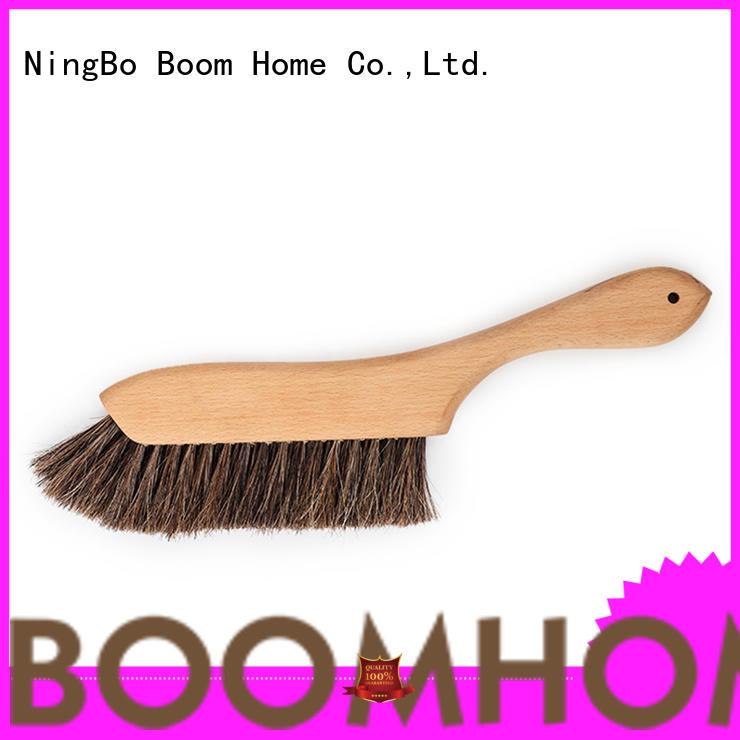 Boom Home wood brush customized for bedspread